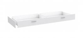 Šuplík k posteli Snow 90x200cm - bílá
