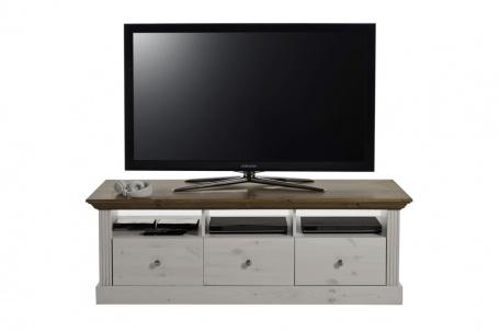 Televizní stolek Monako - bílá/provence