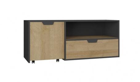 Televizní stolek Nina - dub rivera
