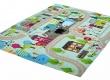Dětský koberec s ulicemi