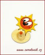 Dětský věšák Sluníčko 13x15cm