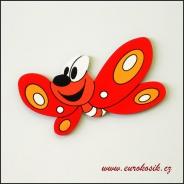 Dětská dekorace Motýl 30cm