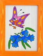 Dětský obrázek motýl