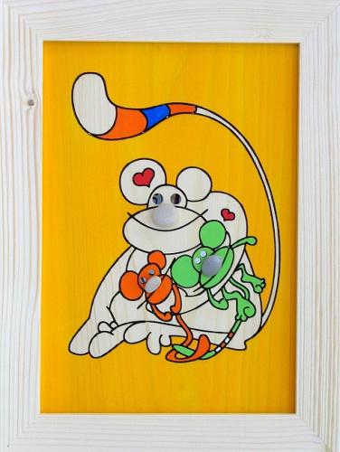 Dětský obrázek opice