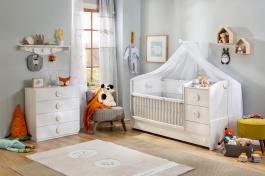 Dětský pokoj Chloe I - bílá