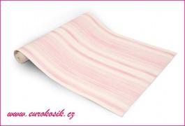 Papírová tapeta růžové pruhy