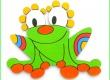 Dekorace na zeď Žába 20cm