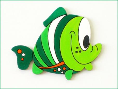 detska dekorace rybicka