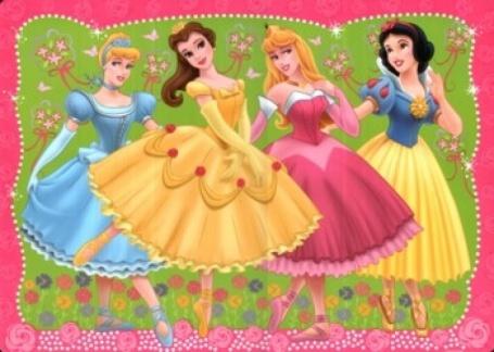 Dětské prostírání Princezny