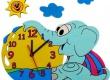 dětská lampička s hodinami