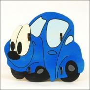 Stojánek na tužky auto modré