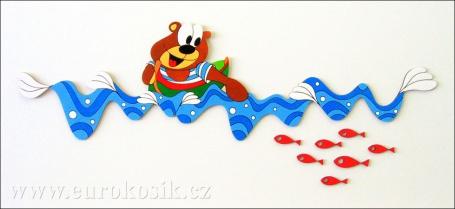 Dětské dekorace na zeď