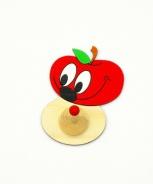 Dětský věšák jablíčko
