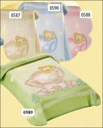 Dětská španělská deka - různé barvy