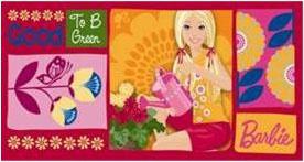 dětská osuška barbie