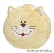 Kočka - plyšové sedátko
