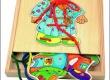 Šněrovací šatní skříň - chlapeček
