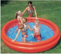 Nafukovací bazén Bestway - červený