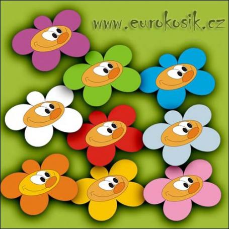 dětská dekorace kytka