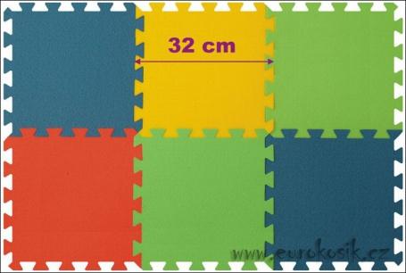 Pěnový koberec puzzle
