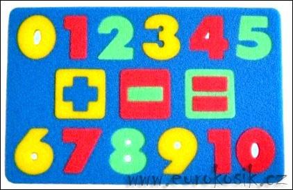 Didaktická hra Čísla