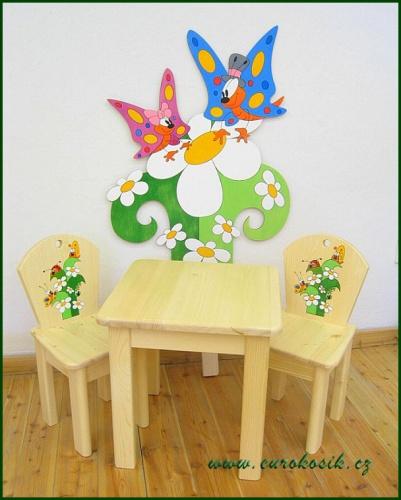 dětský stoleček