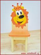 Dětská židle Lev