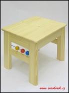 Dětská stolička s kuličkami 300x330