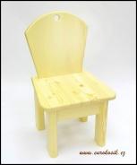 Dětská židlička bez motivu