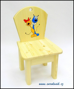 Dětská židlička kocour a kočka