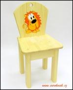 Dětská židlička Lev