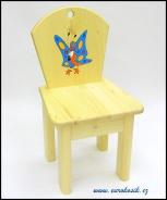 Dětská židlička Motýl