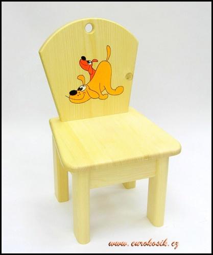 Dětská židlička dřevěná