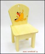 Dětská židlička Psi