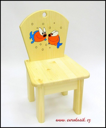 Dětská židlička Rybka