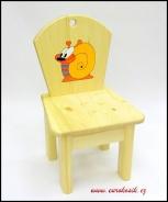 Dětská židlička Šnek
