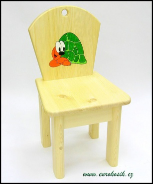 Dětská židlička Želva