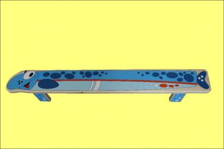 Dětská lavička dřevěná