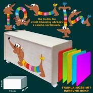 Dětská truhla na hračky
