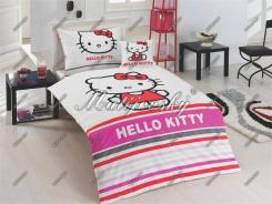 Dětské povlečení Hello Kitty Stripe