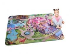 Dětský koberec 3D ultra soft Zámek