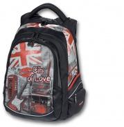 Školní studentský batoh City of Love