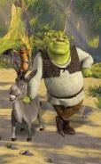 Dětská tapeta na zeď 6-ti dílná - Shrek