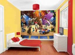 Dětská 3D tapeta Cirkus