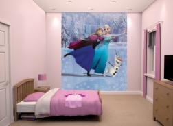 Dětská tapeta na zeď 8-dilná - Frozen 2