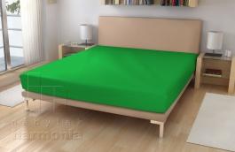 Jersey prostěradlo - Zelená