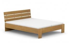 Manželská postel REA Nasťa 160x200cm - buk