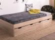 Dětská postel s úložným prostorem REA Misty 90x200cm - buk