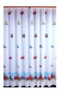 Záclona Cars - šíře 81cm - výška 150cm