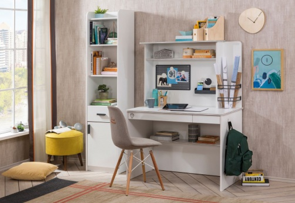 Malá kancelář Pure - bílá